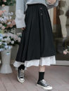 Cosplay women's wear skirt goods in stock Over 14 years old black comic Average size