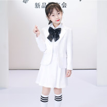 Suit / Blazer 100cm 110cm 120cm 130cm 140cm 150cm 160cm 170cm Mixi school female There are models in the real shooting college routine cotton Polyester 80% viscose 20% MXP-10021 Cotton liner Summer 2020