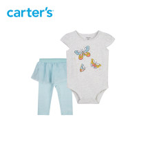 suit Carter's Top + trouser skirt 66cm 73cm 80cm 90cm female summer lady Sleeveless + pants 2 pieces Thin money Socket nothing Cartoon animation cotton 1I505010 Class A Cotton 100% Summer 2021 6 months 12 months 9 months 18 months 2 years old Chinese Mainland Zhanjiang City Guangdong Province