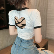 short coat Summer 2021 S M L White black Yi Kaili 96% and above other Other 100% Pure e-commerce (online only)