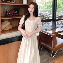 Earmuff White dress s white dress m white dress l White Dress XL other LNE051718A Lu Naier Summer 2021