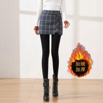 Leggings Winter 2020 Picture color M,L,XL,2XL,3XL Plush trousers nylon 31% (inclusive) - 50% (inclusive)