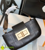 Bag The single shoulder bag Sheepskin Small square bag Other / other brand new European and American fashion Small leisure time soft Buckle no Solid color Single root One shoulder hand nothing youth Horizontal square inside pocket with a zipper