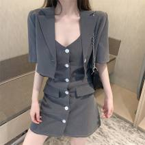 Outdoor casual suit Tagkita / she and others female 51-100 yuan fifty-three point two zero S,M,L,XL,2XL loose coat summer Summer 2020