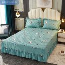 Bed skirt [thickened] 120x200cm single cotton bed skirt, [thickened] 1.2x2m [bed skirt 1 + pillow case 2], [thickened] 1.5X2m [bed skirt 1 + pillow case 2], [thickened] 180x200cm single cotton bed skirt, [thickened] 1.8x2m [bed skirt 1 + pillow case 2] Others Other / other Plants and flowers