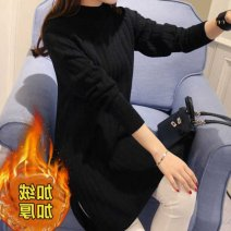Wool knitwear Winter of 2018 S 80-95,M 95-110,L 110-120,XL 120-130,2XL 130-145,3XL 145-155 singleton  Socket other 30% and below Medium length thick easy High collar Socket PDD4154980201 Other / other