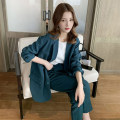 Women's large Spring 2021 suit Two piece set commute easy moderate Cardigan Long sleeves Korean version routine Three dimensional cutting Other 100% Pure e-commerce (online only)