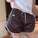 Casual pants Decor S,M,L Summer 2021 shorts Wide leg pants High waist Versatile Thin money 18-24 years old 96% and above cotton pocket hemp