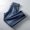 Jeans Fashion City Others 29,30,31,32,33,34,35,36,37,38 Picture color n2r06500 routine Micro bomb Cotton elastic denim N2R06500 Ninth pants Other leisure Cotton 98% polyurethane elastic fiber (spandex) 2% summer youth middle-waisted Loose straight tube Business Casual 2021 Straight foot zipper cotton