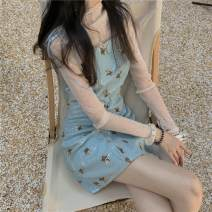 Outdoor casual suit Tagkita / she and others female 101-200 yuan one hundred and twenty-seven point five two S,M,L Base coat + Sequin skirt summer