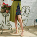 skirt Summer of 2018 160/68A/S,165/72A/M,170/76A/L,170/80A/XL Green G1, earth yellow Y1 Middle-skirt commute Natural waist A-line skirt Type A 25-29 years old C1834001 51% (inclusive) - 70% (inclusive) Vivian Liu / Hongying nylon Asymmetry literature