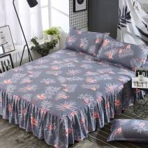 Bed skirt polyester fiber Other / other Plants and flowers Qualified products TOK7818