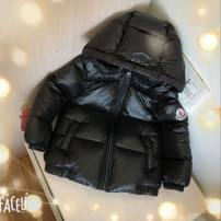Down Jackets 90% White duck down Children, female, male Other / other nylon have cash less than that is registered in the accounts No detachable cap Zipper shirt Solid color Class B Polyester 100%