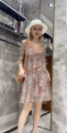 Dress Spring 2021 grey M(2),L(3),XL(4) Other / other 832Q510848