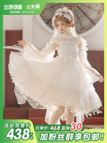 Lolita / soft girl / dress Three puppets One size fits all, s, m, l, XL, 2XL Summer, spring, spring and Autumn Pre sale Lolita