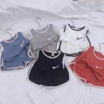 suit Other / other 20230 white, 20230 black, 20230 gray, 20230 dark blue, 20230 orange red 80cm,90cm,100cm,110cm,120cm,130cm male motion 3 months