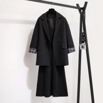 Fashion suit Spring 2021 M,L,XL,XXL,XXXL,4XL Suspender skirt [single piece], black suit [single piece], suit + suspender skirt [suit]