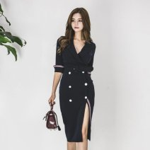 Quick drying suit 201-500 yuan S,M,L,XL navy blue 1 ℃ only - III / degree unique - I female