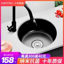 Sink package 1 stainless steel With other accessories, with drain basket, soap dispenser and faucet Intra city logistics delivery