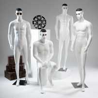 Fashion model Kp-5 [without post stick and props] white, kp-4 [without post stick and props] white, kp-6 [without post stick and props] white, make-up KP male sitting posture white, stainless steel shoes post stick silver Jiangsu Province other other other Disassembly