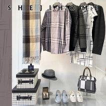 Matching suit of home decoration Kit 1, Kit 2, clothes 4, gray shirt, black shirt sleeveless, leather skirt, scarf (Bo Kuan), storage box, lattice bag + bag, black bag, black watch + simple box, glasses + tray, perfume, shoes 1, shoes 2, shoes 3
