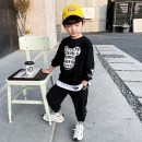 suit 110cm 120cm 130cm 140cm 150cm 160cm male spring and autumn Korean version Long sleeve + pants 2 pieces routine There are models in the real shooting Socket nothing other other children Giving presents at school Class B Other 100% Spring 2021 Chinese Mainland Zhejiang Province Huzhou City