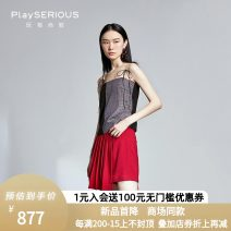 Casual pants gules XS,S,M Winter 2020 shorts Natural waist commute routine 25-29 years old 96% and above 20AWK0412 MakiiMakii other Ol style Asymmetry