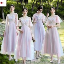 Dress / evening wear party Average size (85-105), large size (105-130), customized to increase contact and customization fee Deer skin Long sleeves Other / other