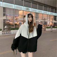 Lace / Chiffon Winter 2020 Picture color S M L XL Long sleeves commute singleton  easy Regular Hood routine zipper 96% and above Other 100%