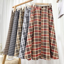 Cosplay women's wear skirt goods in stock Over 14 years old black , white , khaki , red , coffee comic Average size