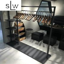 Clothing display rack clothing Metal Other / other Official standard