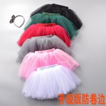 skirt Winter 2016 Cake skirt Solid color Other / other