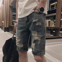 Jeans Youth fashion Tagkita / she and others S,M,L,XL,2XL,3XL 90489, 9111, 1901, G01, G01, G02, G03, G04, G05, G06, G07 Micro bomb Pant Other leisure middle-waisted washing