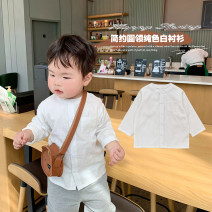 suit A Xiaoxuan Gentleman's Square Collar Shirt Size 74, size 80, Size 90, size 100, Wu shoot more new products, pay attention to VX: a1xxyt neutral spring and autumn leisure time routine There are models in the real shooting nothing Six months, 12 months, 9 months, 18 months, 2 years, 3 years