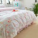 Bedding Set / four piece set / multi piece set cotton other Others 200x95 Other / other cotton 4 pieces other 1.2m (4 ft) bed, 1.5m (5 ft) bed, 1.8m (6 ft) bed, 2.0m (6.6 ft) bed, 2.2m (7 ft) bed Bed skirt Countryside 100% cotton twill