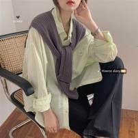 Scarf / silk scarf / Shawl other Grey, black, apricot spring and autumn currency Shawl Korean version youth Solid color Less than 30%