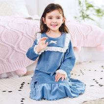 Home skirt / Nightgown Biddybaby / biddybaby 110cm (suitable for height 100-110cm) 120cm (suitable for height 110-120cm) 130cm (suitable for height 120-130cm) 140cm (suitable for height 130-140cm) 150cm (suitable for height 140-150cm) 160cm (suitable for height 150-160cm) female Keep warm at home