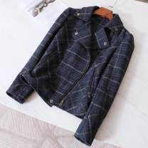 short coat Spring 2021 S suggests less than 98 kg, m 98-110 kg, l 110-120 kg, XL 120-130 kg, 2XL 130-140 kg, 3XL 145-160 kg Navy blue, navy blue singleton  Self cultivation Other / other 30% and below