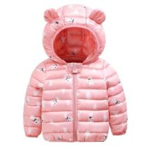 Cotton padded jacket neutral No detachable cap Cotton 81% - 90% Other / other 120cm,100cm,110cm,80cm,90cm routine Zipper shirt Cartoon No model other Class C other Cotton liner 8A0019050 Six months, 12 months, 3 years, 4 years Chinese Mainland
