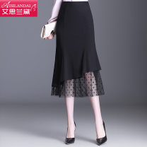 skirt Spring 2021 20 / M 2'27, 21 / L 2'128, 22 / XL 2'229, 23 / XXL 2'330, 24 / 3XL 2'431, 25 / 4XL 2'532 black Mid length dress commute High waist skirt Solid color Type H A20CQ965 other Other / other Pleat, fold, wave, mesh, zipper, stitching 161g / m ^ 2 (including) - 180g / m ^ 2 (including)