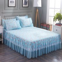 Bed skirt Single bed skirt 120cmx200cm, single bed skirt 150cmx200cm, single bed skirt 180cmx200cm, single bed skirt 180cmx220cm, single bed skirt 200cmx220cm, 2 pillowcases Others Strawberry, butterfly, flamingo, Xin gag, love, succulent, Xin crown, Xin wish Other / other Plants and flowers DL6009i