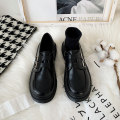 Low top shoes 35,36,37,38,39 Other / other Double button matte (Collection Plus purchase, double button patent leather (Collection Plus purchase, single button matte (Collection Plus purchase, single button patent leather (Collection Plus purchase) Round head PU Flat bottom Middle heel (3-5cm) rubber