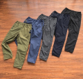 Casual pants Others Youth fashion S,M,L,XL trousers Other leisure Straight cylinder Micro bomb tide 2020 middle-waisted Solid color Khaki cotton cotton More than 95%