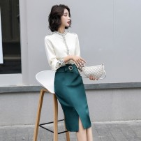Fashion suit Autumn 2020 S,M,L,XL Green, black 25-35 years old Other / other