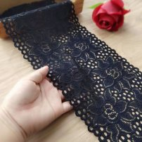 lace Black is one meter long, white is one meter long, blue is one meter long, and jujube is 15 cm wide Artilivi / tiraiya 4tjHA