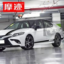 Car decoration stickers Stickers All car stickers Rubbing marks (auto parts) Camry cover + side skirt Support customization