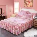 Bed skirt 2 pillowcases for bed skirt 1.2x2m, 2 pillowcases for bed skirt 1.5X2m, 2 pillowcases for bed skirt 1.8x2m, 2 pillowcases for bed skirt 1.8x2.2m and 2 pillowcases for bed skirt 2x2.2m Others Other / other Plants and flowers First Grade