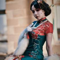Cosplay women's wear jacket goods in stock Over 14 years old comic other cheongsam