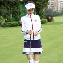 Golf apparel Coat white, skirt Baolan, coat + skirt + undergarment, coat + skirt M,XL,S,L,XXL female Other / other Jacket
