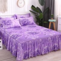 Bed skirt 180x220cm, 2 pillowcases for today, 200x220cm, 2 pillowcases for today cotton Other / other Plants and flowers First Grade